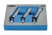 """Laser 7891 Universal Joint Spark Plug Socket Set 3/8""""D"""