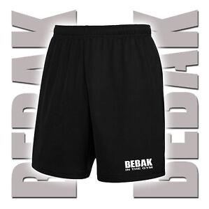 Mens Gym Shorts Bodybuilding Clothing Workout MMA Shorts BEBAK In The Gym