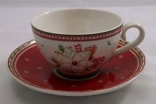 Villeroy & and Boch CHRISTMAS WINTER BAKERY DELIGHT tea cup and saucer NEW