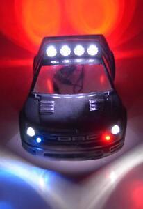Traxxas Stampede Slash RC10 Custom Police LED Light Set #61