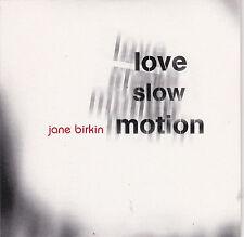 CD CARTONNE CARD SLEEVE COLLECTOR 1T JANE BIRKIN LOVE SLOW MOTION 1998