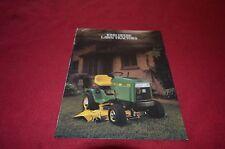John Deere 130 160 165 175 180 185 Lawn & Garden Tractor Dealers Brochure Dcpa5