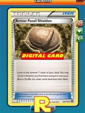 2x Armor Fossil Shieldon - for Pokemon TCG Online ( DIGITAL ptcgo in Game Card)