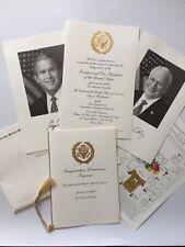2005 George W. Bush Inauguration Congressional Invitation Package Dick Cheney