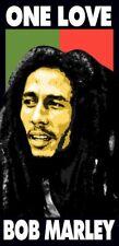 NEW Bob Marley Towel Rasta Festival Velour Beach Pool Souvenir 28 X 58
