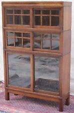 Ultra Rare Danner Arts & Crafts Oak Barrister Bookcase