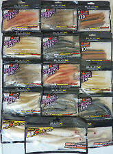 Lot de 15 packs Leurres souples ILLEX  PECHE fishing lure Nitro bar sandre mer