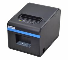 Thermal USB Ethernet Printer Black And White Style Commercial Business Use Tools
