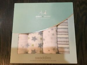 Aden and Anais swaddles BNWT  stars and stripes