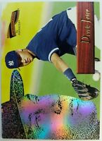1996 96 Pinnacle Aficionado Derek Jeter ROOKIE RC #163, New York Yankees