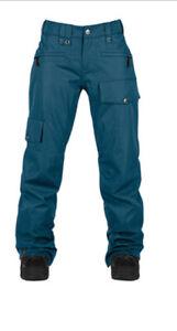 New Bonfire Madison Insulated Ski / Snowboard Pants Women's Medium Midnight Blue
