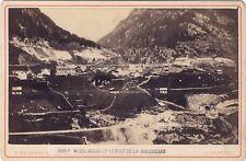 Wasen et le Font de la Mayenreuss et Suisse Photo F. Charnaux Genève Albumine