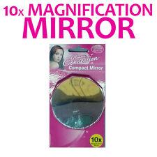 10 x Vergrößerung-Kompakt-Spiegel - SALON - für Make-up-Eitelkeit-KITS - Reisen
