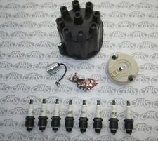 1957-1958 Buick Ignition Tune-Up Kit. Cap Rotor Points Condenser & 8 Delco Plugs