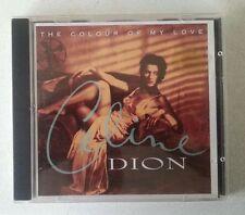 "CELINE DION ""The Colour of my Love"" CD 1993 1990s album pop"