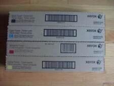 Set 4 GENUINE Xerox 700 TONER 006R01375 006R01376 006R01377 006R01378 J75 C75 NE