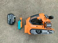 Makita 18v Battery adaptor to AEG/Rigid tool- drill, grinder, saw, nailer