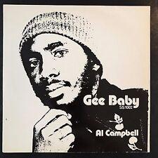 Al Campbell - Gee Baby - Phil Pratt LP 33T Rare Reggae 1977 ♫