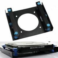 """3.5/"""" SSD HDD To 5.25/"""" Shock Absorption Hard Drive Mount Adapter Bracket Dock IL"""