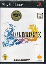 - Final Fantasy X mit Bonus DVD (ohne Anleitung mit Hülle) Playstation PS 2 -