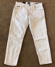 RVCA Jeans | Cropped Taper Fit Hitcher Denim | Size 32 x 24 White Stone Wash