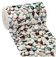 Tappeto cucina gomma antimacchia antiscivolo bagno pietre colorate mod.MENDY52