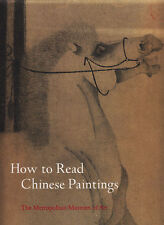 HOW TO READ CHINESE PAINTINGS 1ST 2008-LARGE MOMA ART EXHIBITION CATALOGUE/BOOK