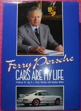 Ferry Porsche CARS ARE MY LIFE Hardback BOOK Autobiograpy w/ Gunther Molter 1989