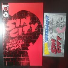 Sin city:Just another Saturday night Comics Frank Miller Wizard 1/2 Vf-Nm w/Coa