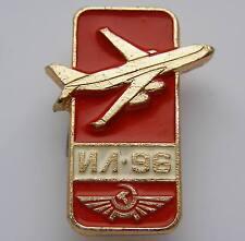 IL-76 Candid Eiffel Tower Paris France Kremlin Aeroflot russsian Pin Badge