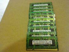 Lotto Memoria RAM sodimm 10x512MB PC2-5300S DDR2 667mhz per portatili notebook