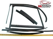 Door Window Frame Weatherstrip Seal Set Rear Left 3.0L Jaguar X-Type 2002 02