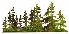 Sizzix Thinlits Tree Line #661604 Retail $12.99 designer Tim Holtz Alterations