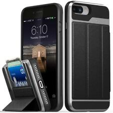 Mac Apple iPhone 8 Plus Wallet Card Slot Holder Case Cover Protector Space Gray