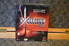 Excalibur 2555 AD PC game 1997 Sirtech brand new in big box, sealed