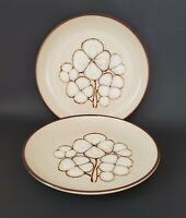 "Yamaka Stoneware Sandia Timberland Dinner Plates 10 1/2"" Japan Set of Two (2)"