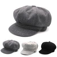 Fashion Hats Ladies Hat Cap Beret Women's Beanie Vintage Beret Cap for Girls Cap