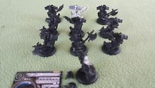 Lot of ten (10) Bane Thralls for Cryx Warmachine USED Privateer Press metal