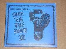 GIVE 'EM THE BOOT (DROPKICK MURPHYS, TIGER ARMY, RANCID, JOE STRUMMER) - CD