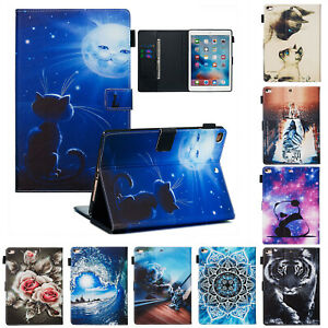 """Pattern Smart Stand Magnetic Flip Wallet Leather Case Cover For iPad Pro 11""""2020"""