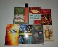 Literature & SciFi Books: Philip K Dick, Thoreau, Marquis de Sade, Lewis Carroll
