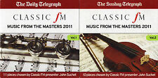 CLASSIC FM - MUSIC FROM THE MASTERS 2011: PROMO 2 CD SET / CHOSEN BY JOHN SUCHET