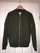 Khaki green Pull And Bear Track Jacket Bomber BNWOT - Small