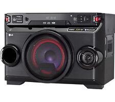 LG LOUDR OM4560 Wireless Megasound Hi-Fi System 220 W Black Bluetooth with NFC