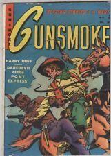 Gunsmoke #15 October 1951 VG- Scarce – Horror story!