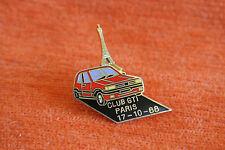 13529 PIN'S PINS PEUGEOT AUTO CAR 205 GTI CLUB PARIS TOUR EIFFEL TOWER