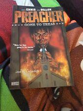Preacher Vol 1: Gone to Texas Garth Ennis, Steve Dillon Vertigo. TPB DC Comics