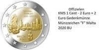 Offizielen KMS MALTA 2020 mit 2 Euro Sondermünze Ta' Skorba  + Münzzeichen F