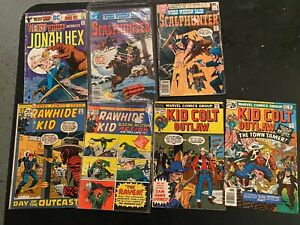 DC and Marvel Bronze Age Western Comics Lot