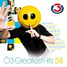 Ö3-Greatest Hits 58 (2012) morti Pantaloni, Gusttavo Lima, gossip, Loreen, FL... CD []